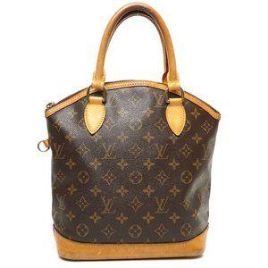 Auth Louis Vuitton Lock It Hand Bag #7046L33